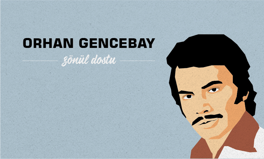 orhan Gencebay ilustrasyon ILLUSTRATION