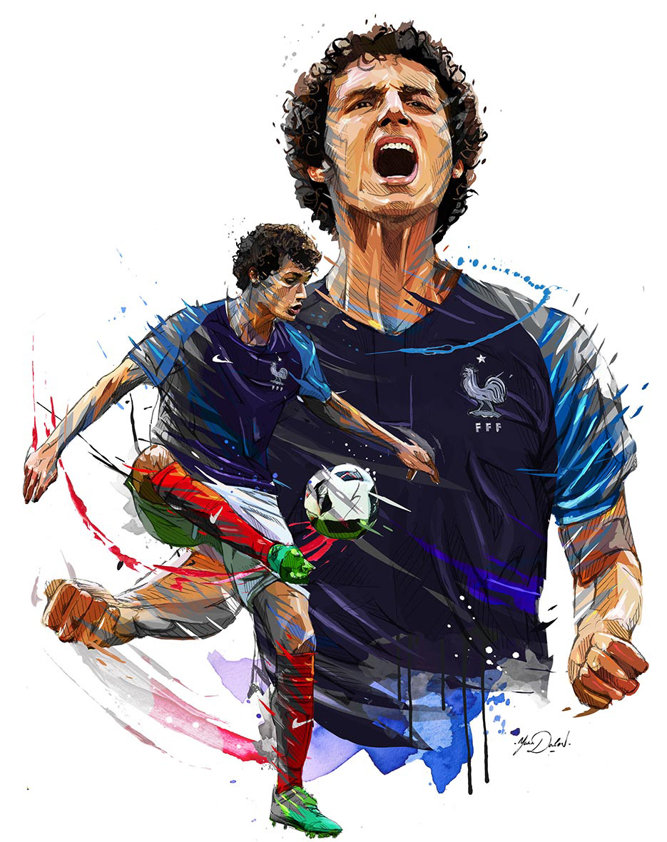 World Cup 2018 Illustrations: Félicitations les Bleus (France)