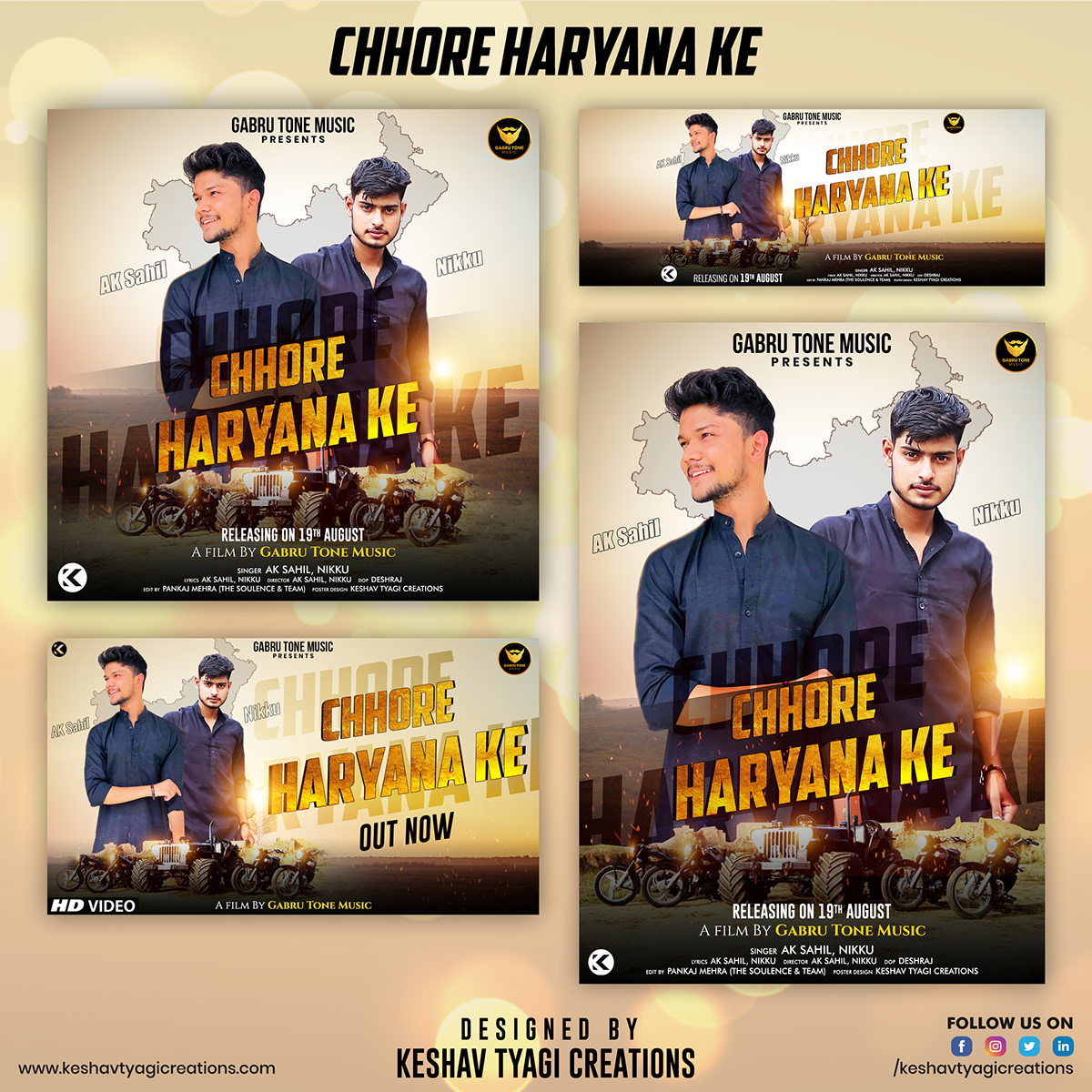 Albumposters graphic graphicdesign graphicdesigner Keshavtyagicreations posterdesign posterdesigner posters SONGSPOSTERS