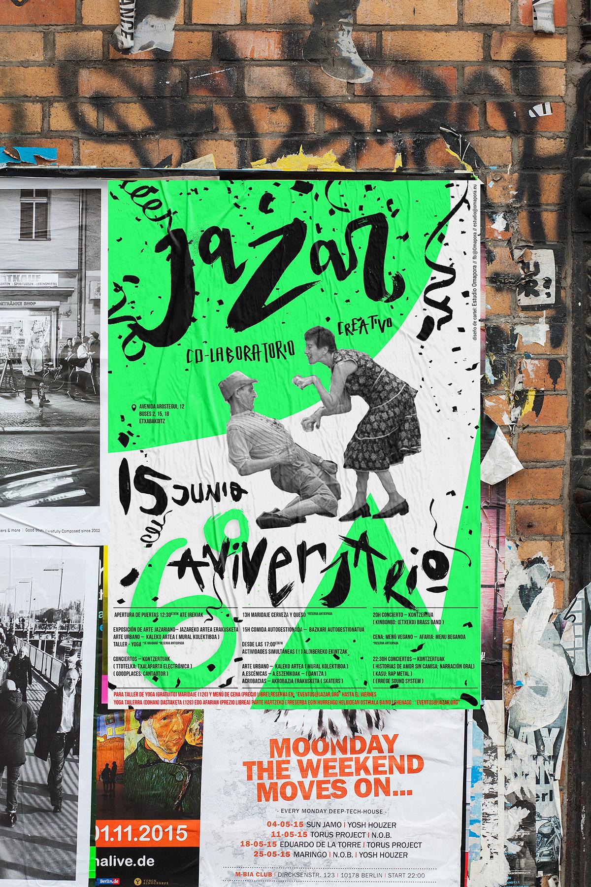 affiche cartel creative design poster