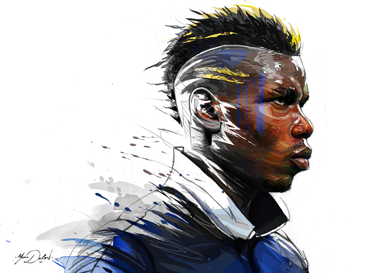 Paul Pogba On Behance