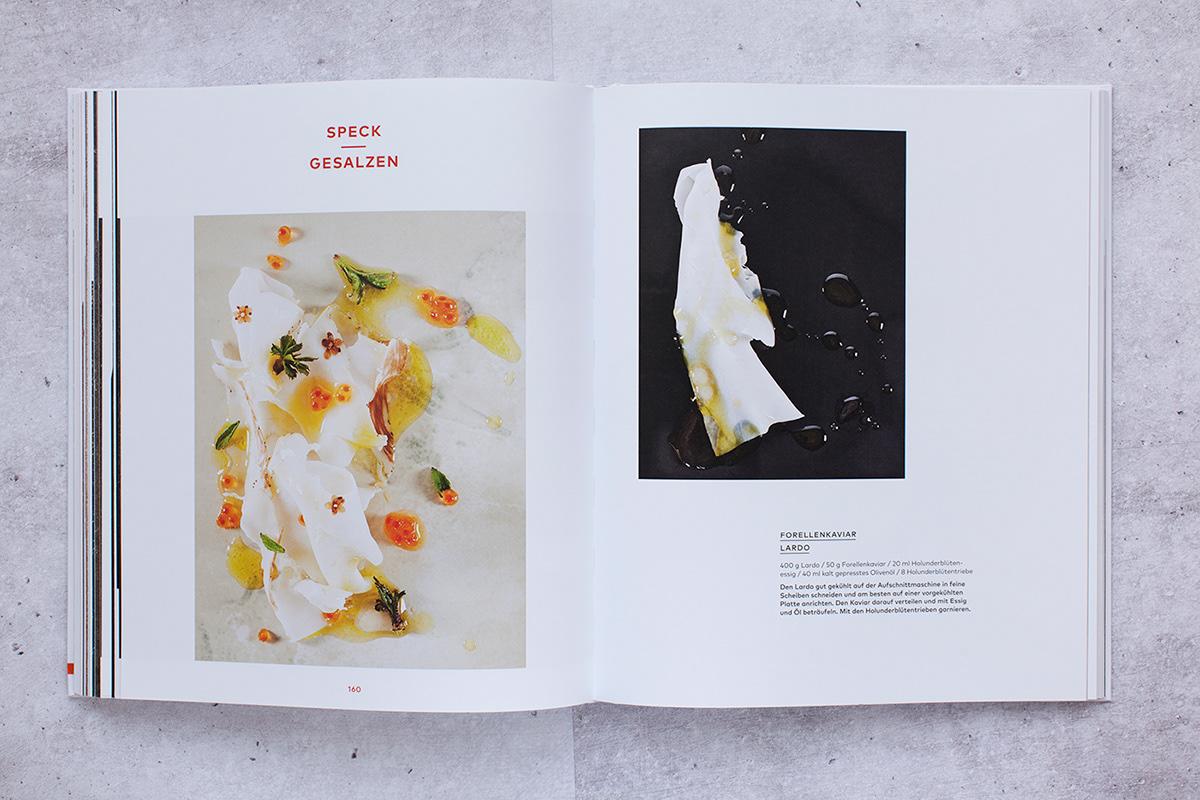 Adobe Portfolio buch Food  graphic design  editorial design
