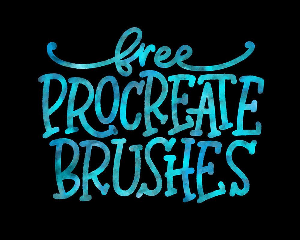 Free Procreate Brushes: a stockpile of all my freebies! on
