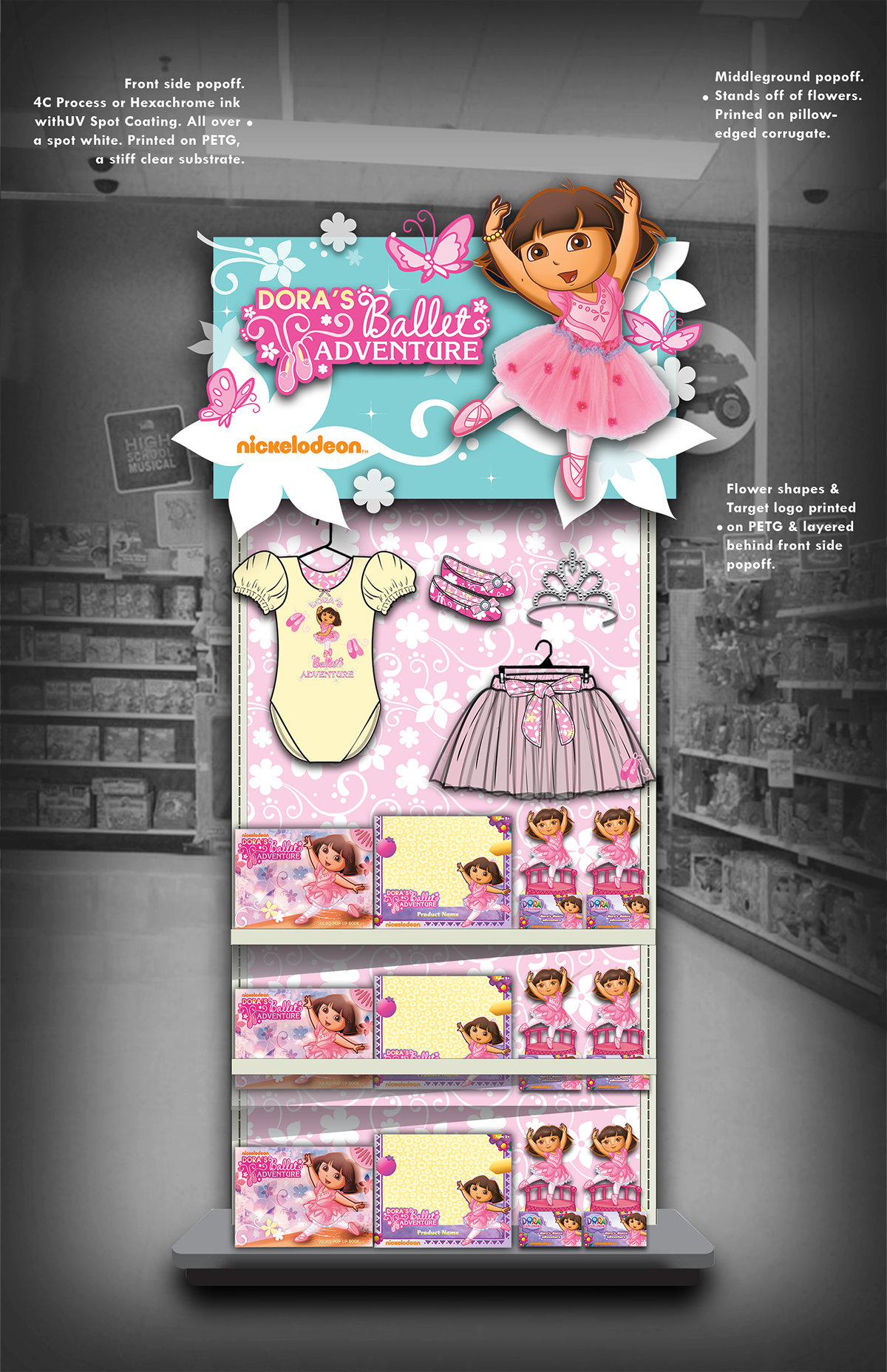 The Croods Toys R Us : Retail display design on behance