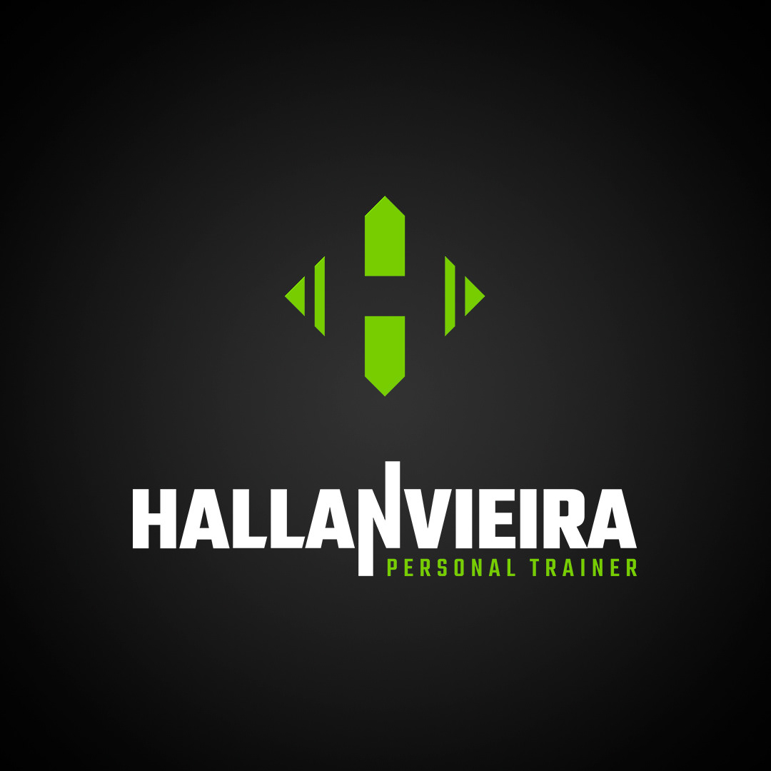 logo hallan branding  marca