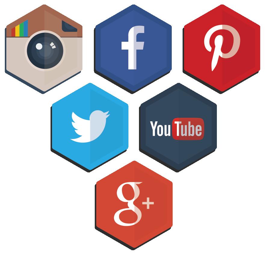 instagram facebook twitter google youtube Pinterest icons Icon social media logos social media icons social media color palette