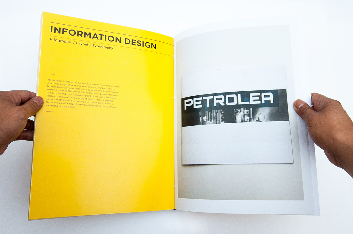 graphic design portfolio book on student show