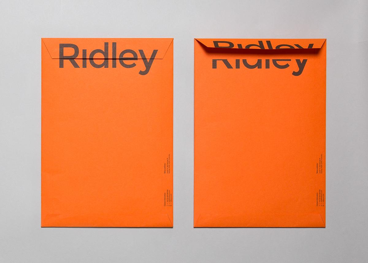 ridley Architectural virtual construction BIM sydney construction re identity brand 3D cad distortion