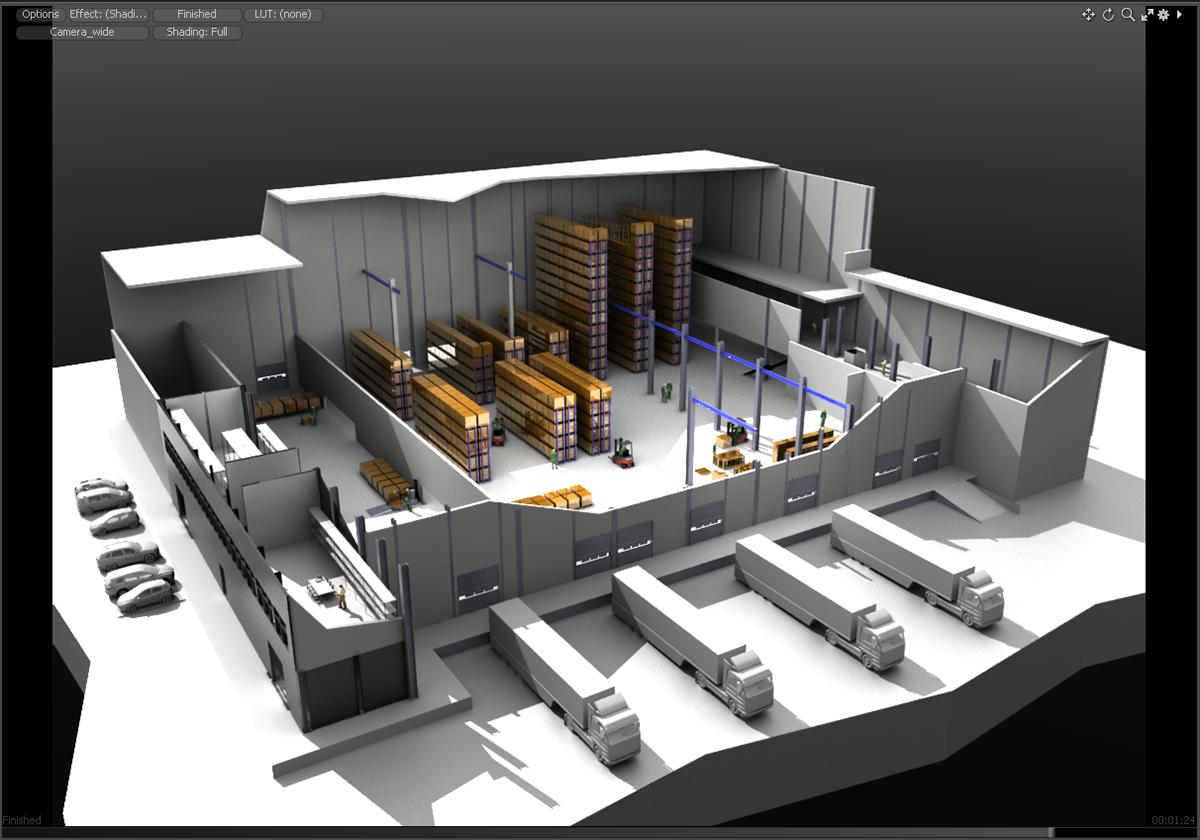 3D Logistics