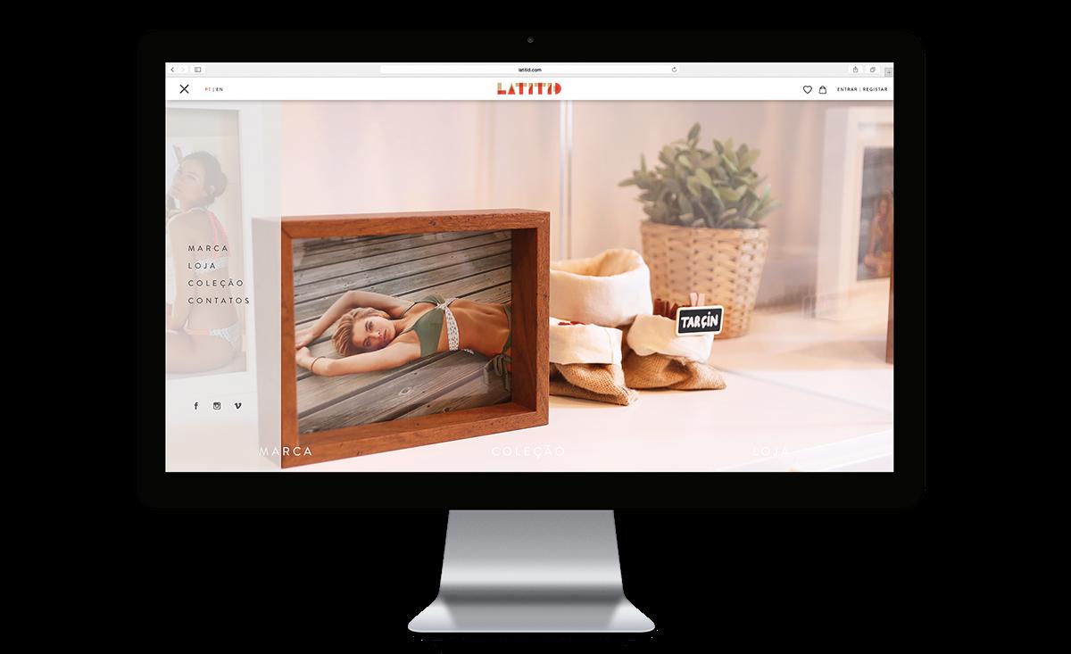 Adobe Portfolio latitid Junta Junta Digital Online shop webstore Fashion  lifestyle Web Design  design