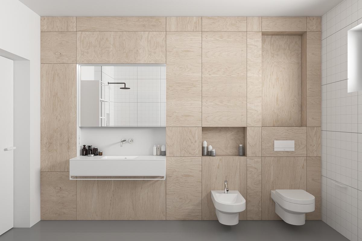 Projekt łazienki ze sklejki on Behance on dy design, l.a. design, setzer design, er design, color design, dj design, blue sky design, pi design, ns design, berserk design,