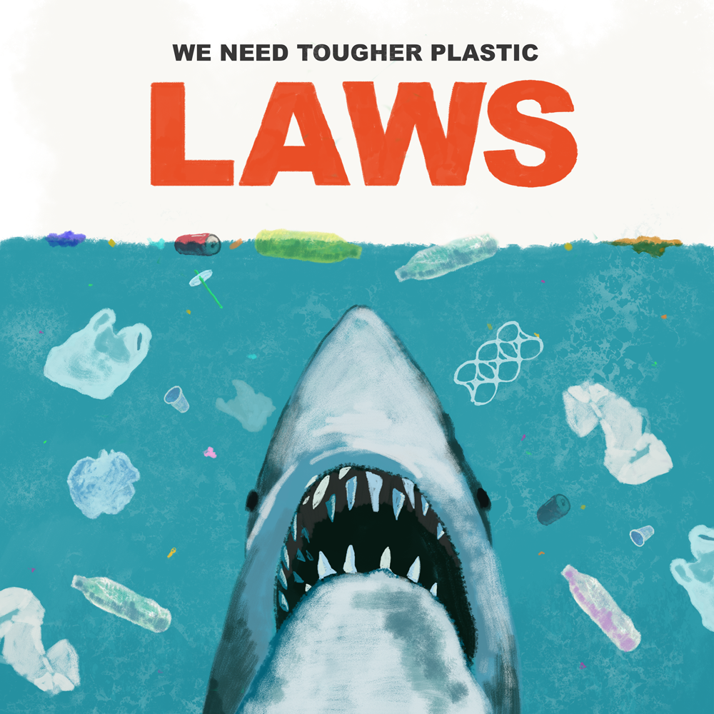Plastic Pollution Posters On Behance