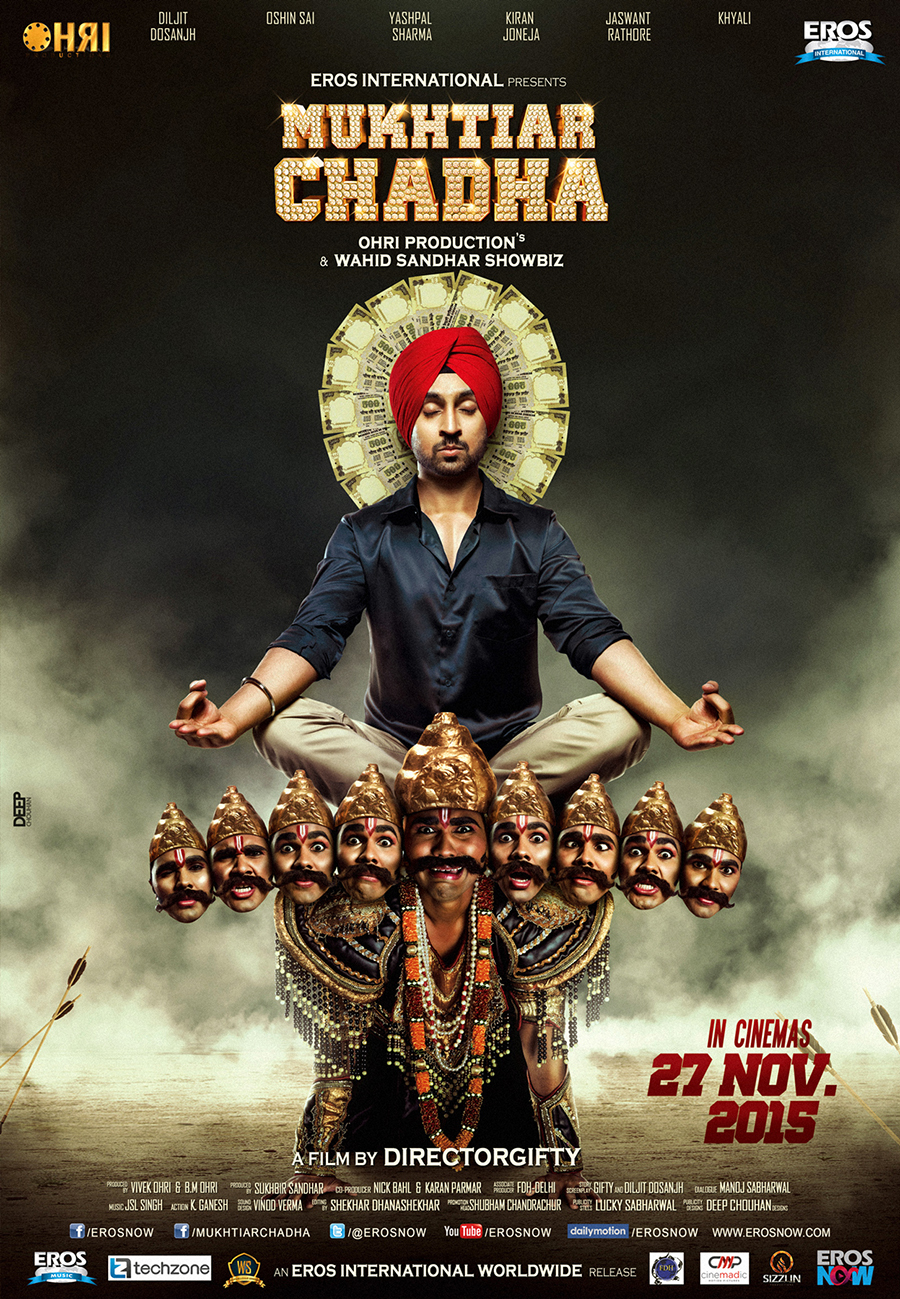 Mukhtiar Chadha (2015) Punjabi Movie 720p HDRip x264 ESubs Free Download