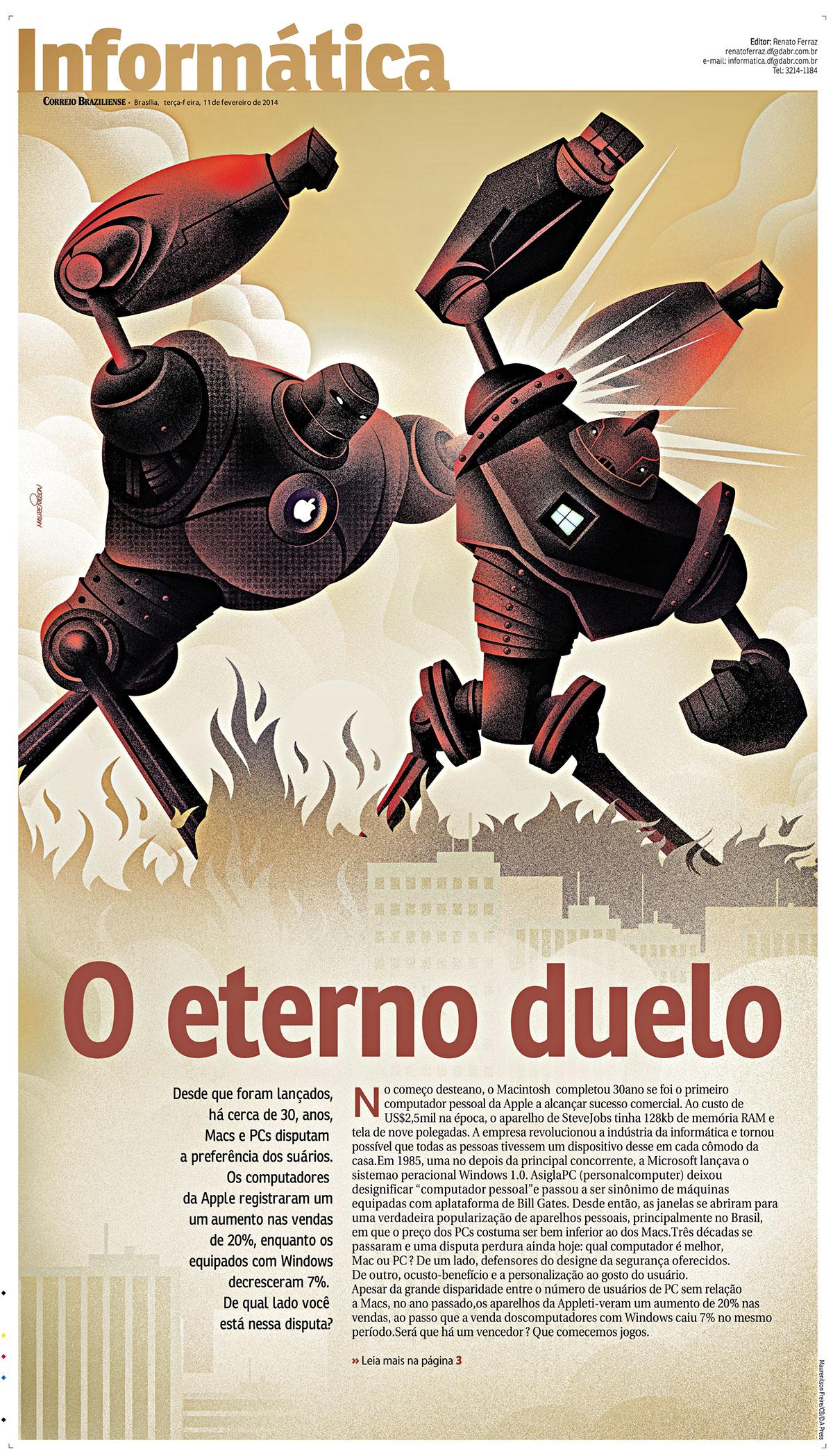 Maurenilson Freire ilusratio Correio Braziliense