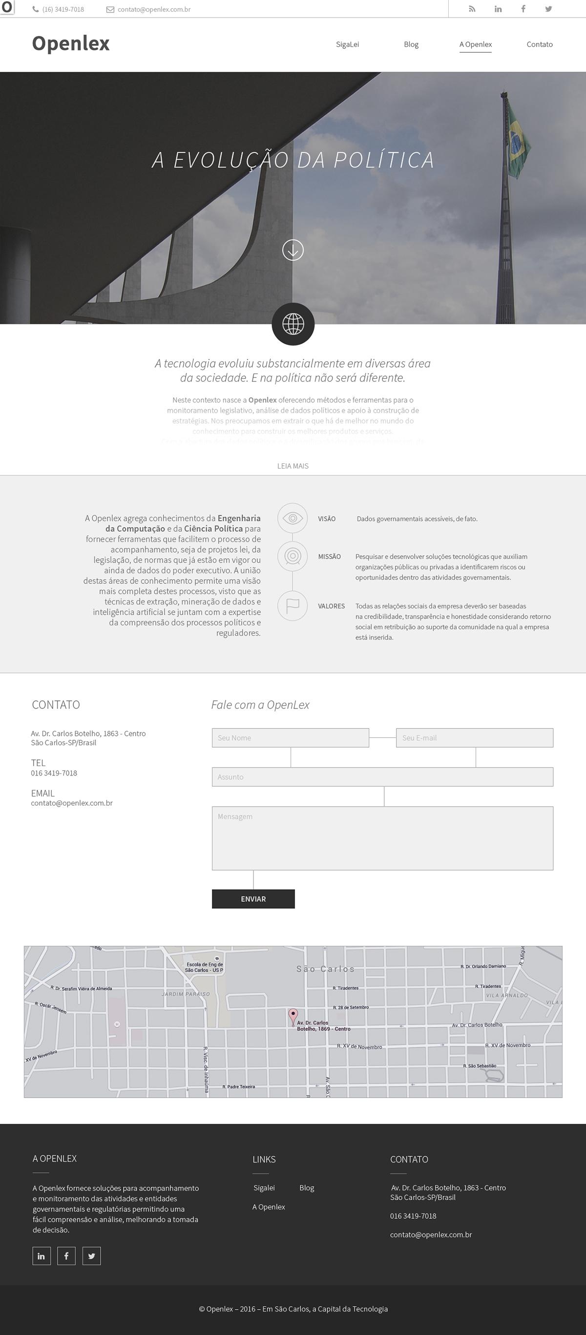 open lex law lei politics Politica app Website Web