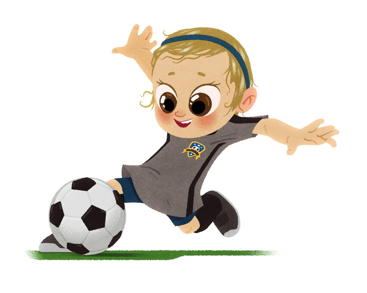 Картинки для детей с футболом