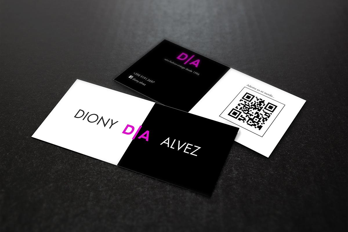 business card logo design mock up