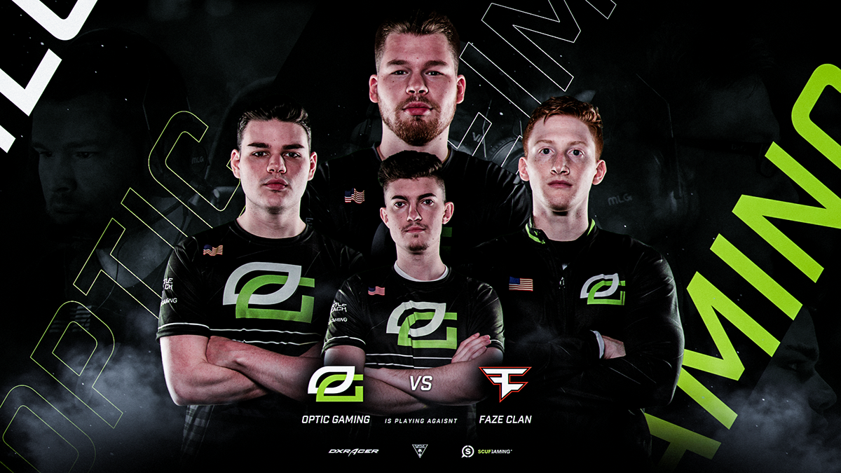 optic gaming cod team project on behance