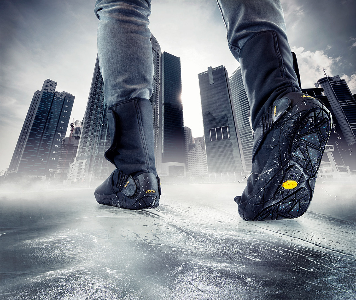 low priced ed384 bd551 VIBRAM FUROSHIKI ARCTIC GRIP on Behance