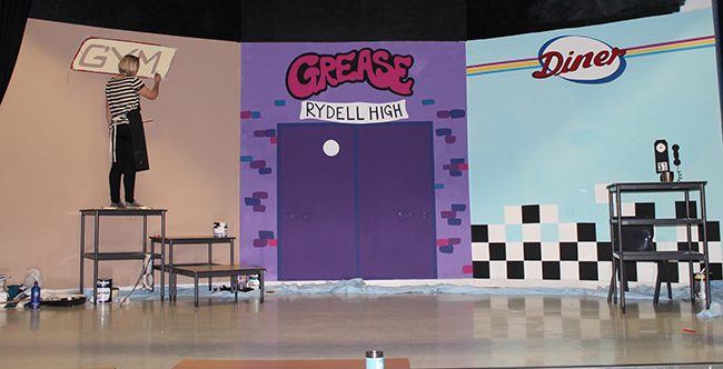 wrc grease the musical | set design on behance