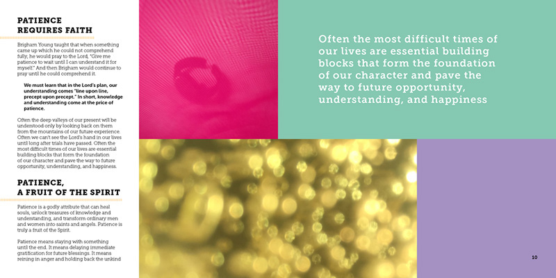 Brochure: Continue in Patience on Behance