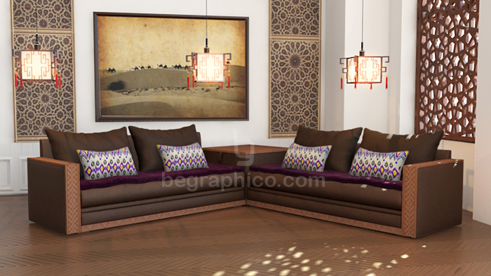 Moroccan Living Room Furniture Richbond on Behance