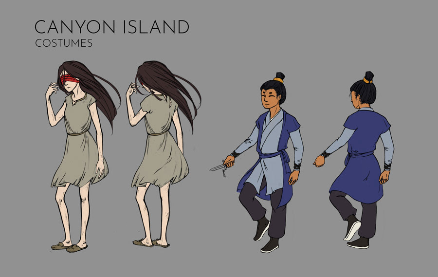 Canyon Island Costumes