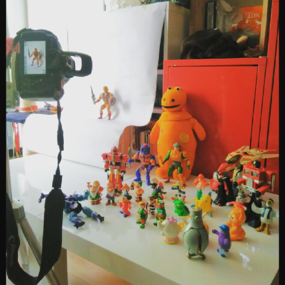 80's frankenstein horror ILLUSTRATION  jouet monster nocolor toys wip logo