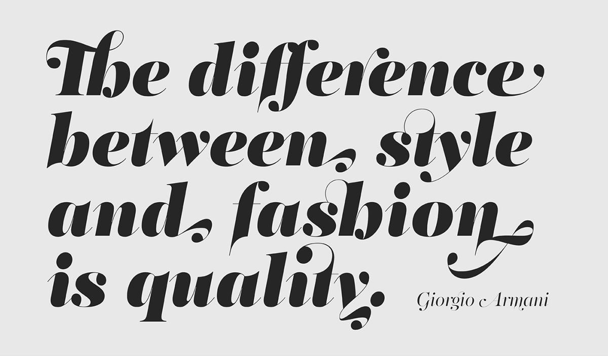 PF Regal Swash Parachute type foundry Typeface Latin greek Cyrillic Greece font specimen fashion editorial
