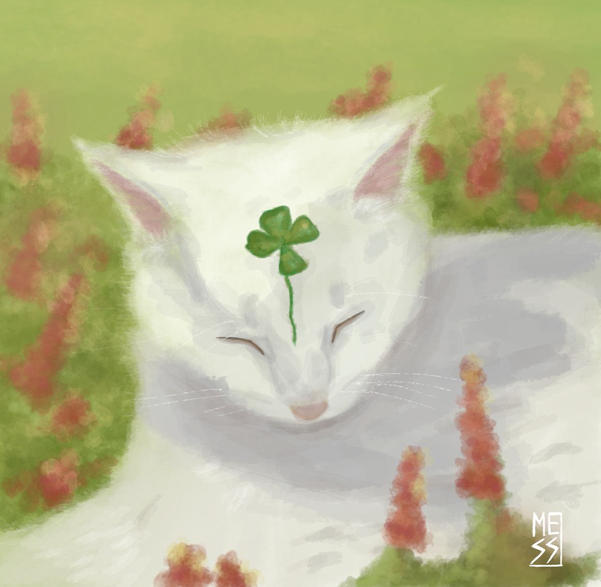 art cat drawing cat illustration cats commissions Digital Art  Pet Pet commissions pets