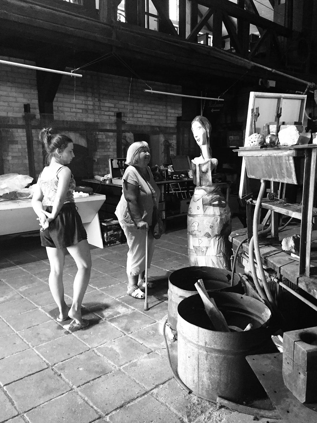 Art/ Figures Bartonova Digital Art  drawings Exhibition for families glasswork Pro rodiny puppets skanzen summer program