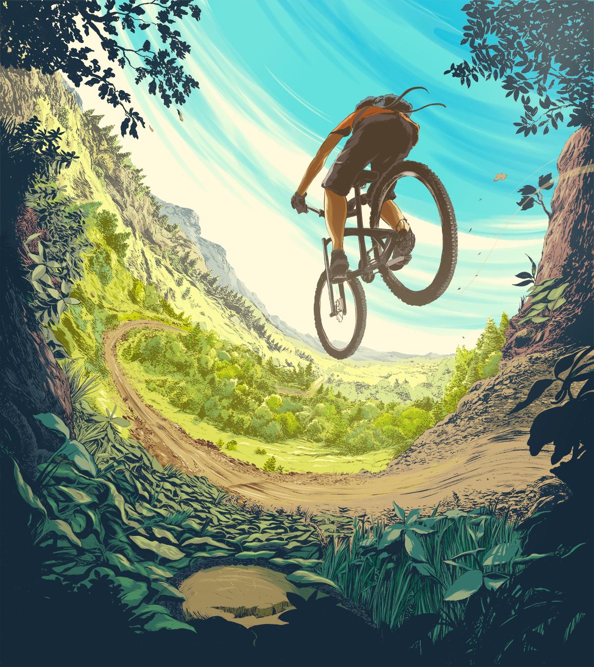 Картинки на тему велосипеде
