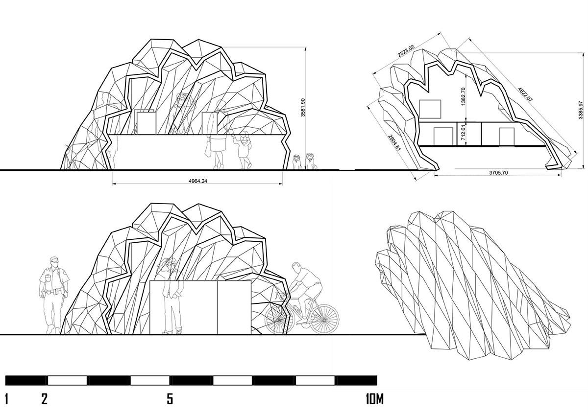 parametric design biomimicry pavilion architecture generative design