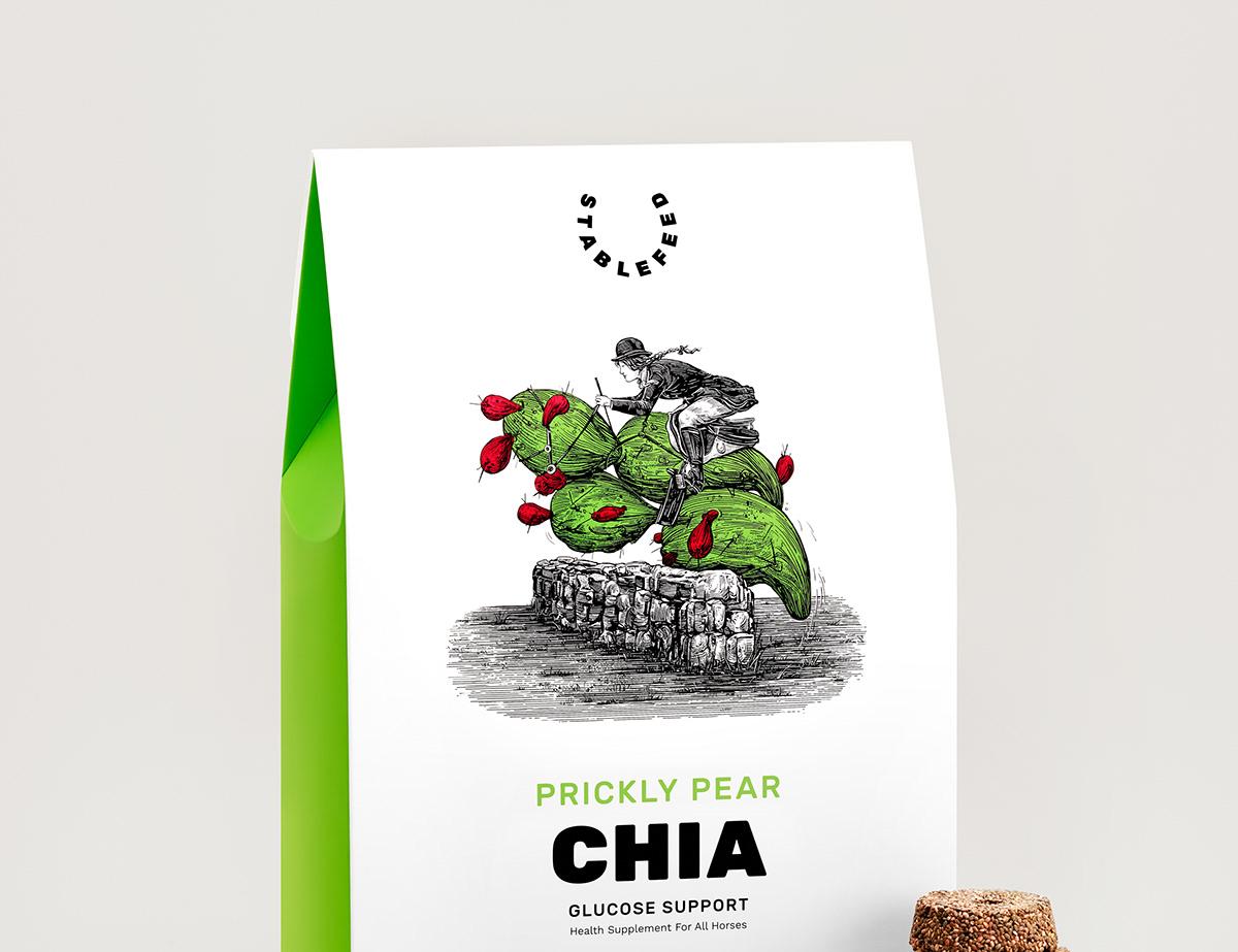 box branding  design full punch graphic design  ILLUSTRATION  package design  Packaging packaging design pet food