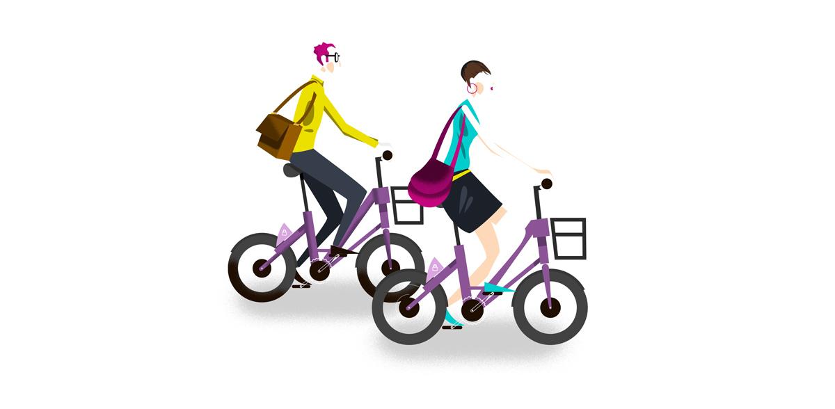 Bike sharing swiss