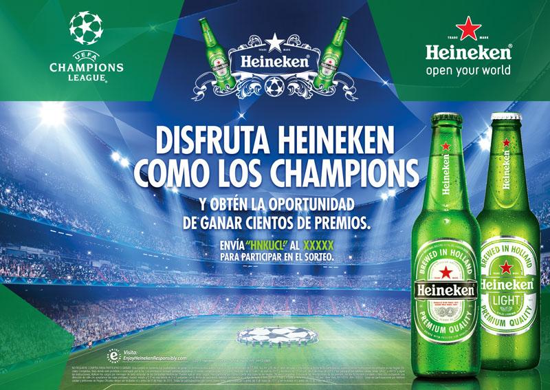 Heineken facebook sweepstakes
