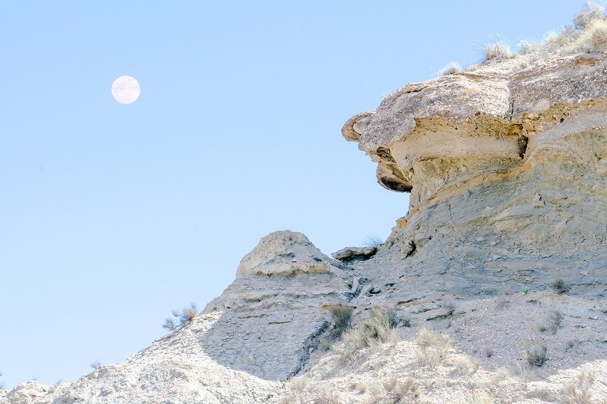 desert Minimalism color Nature outerspace western moon alien planet Landscape