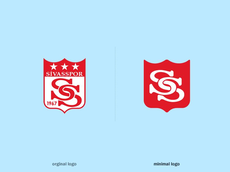 Turkish Super League Football Clubs Minimal Logos on Behance