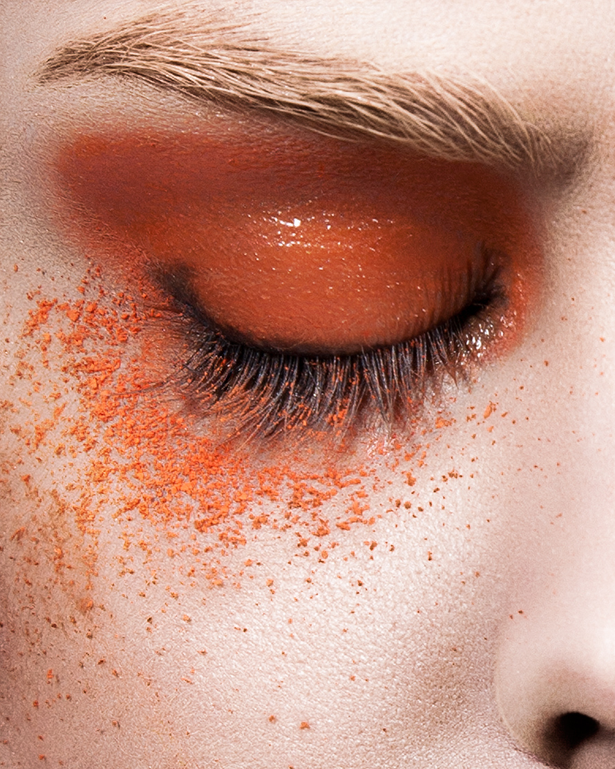 Steve Kraitt michelle court echo nittolitto beauty cosmetics closeup creative colour makeup