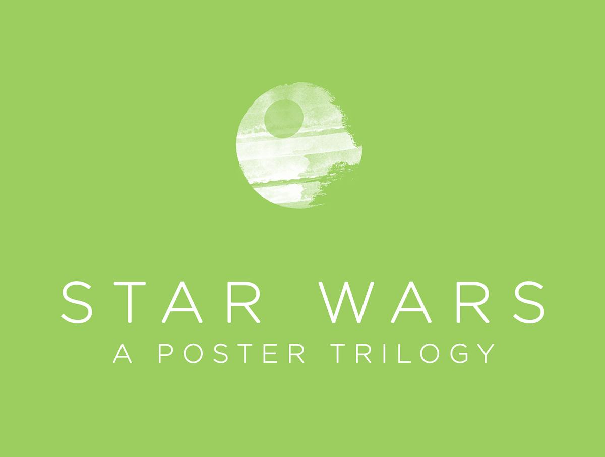 star wars poster Minimalism