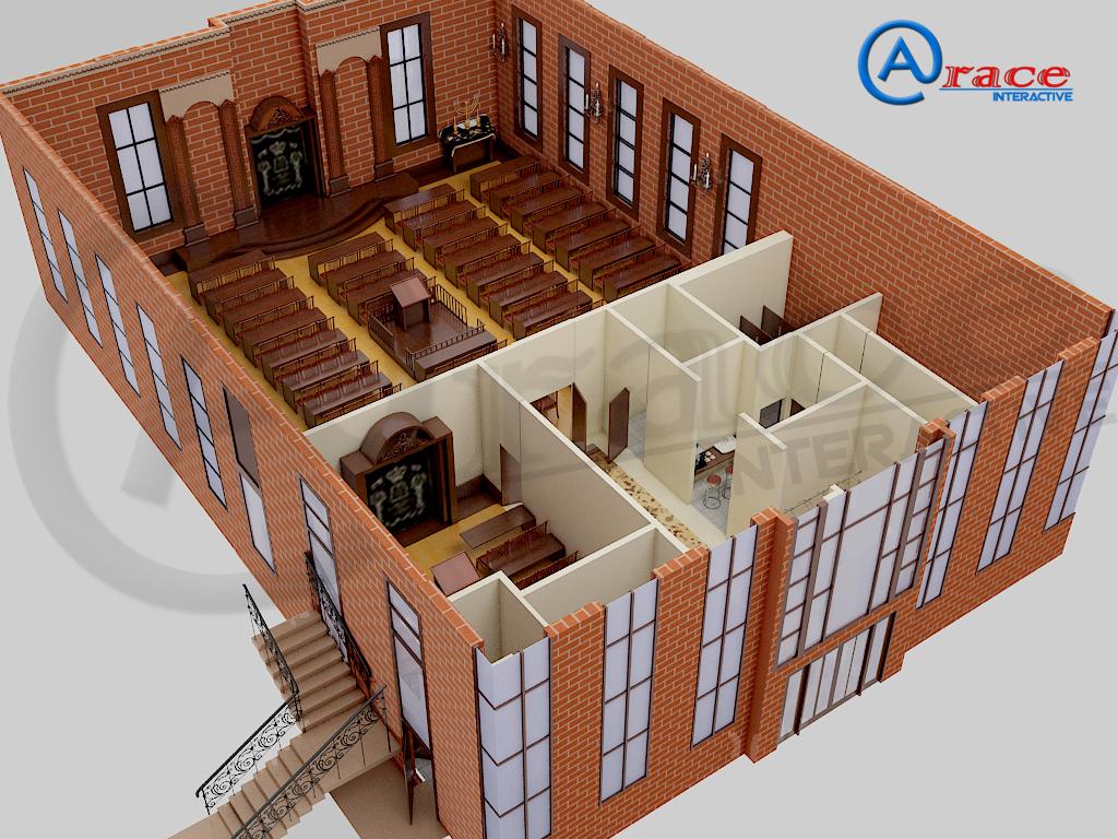 floor plan rendering on behance