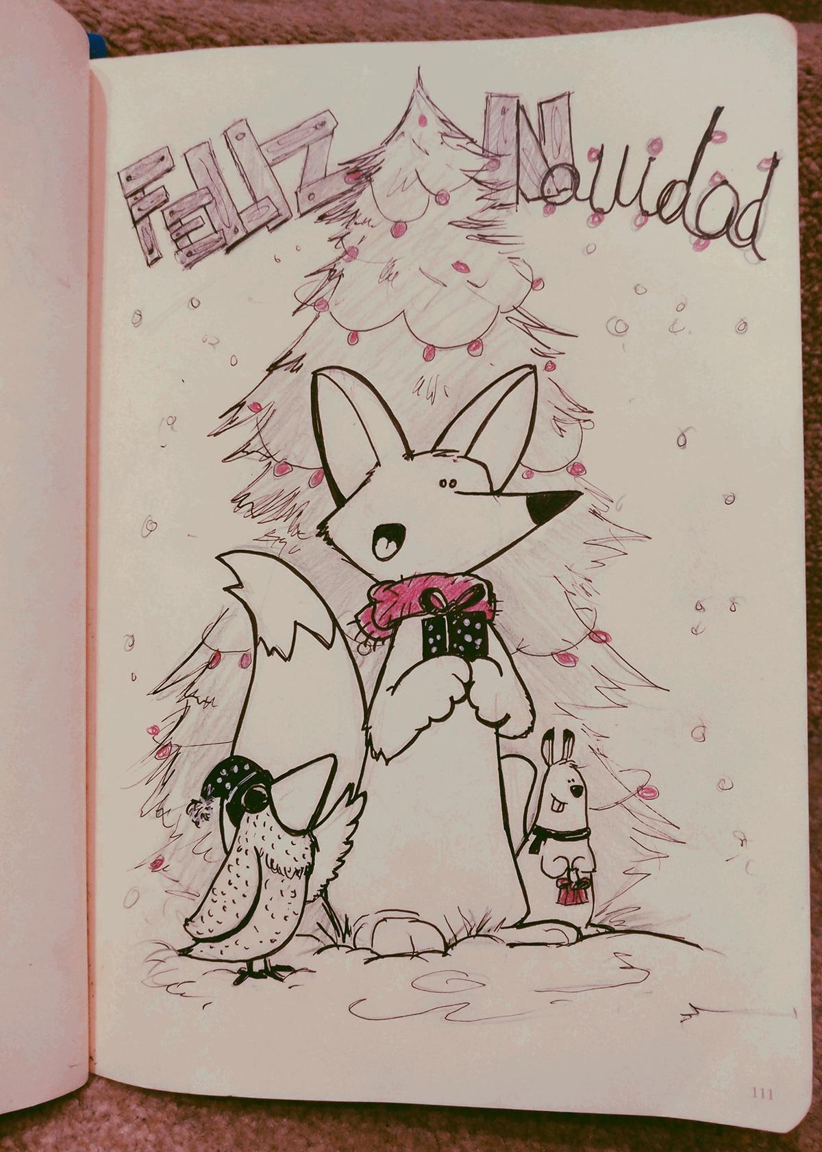 cards gift funyanimal Birthday