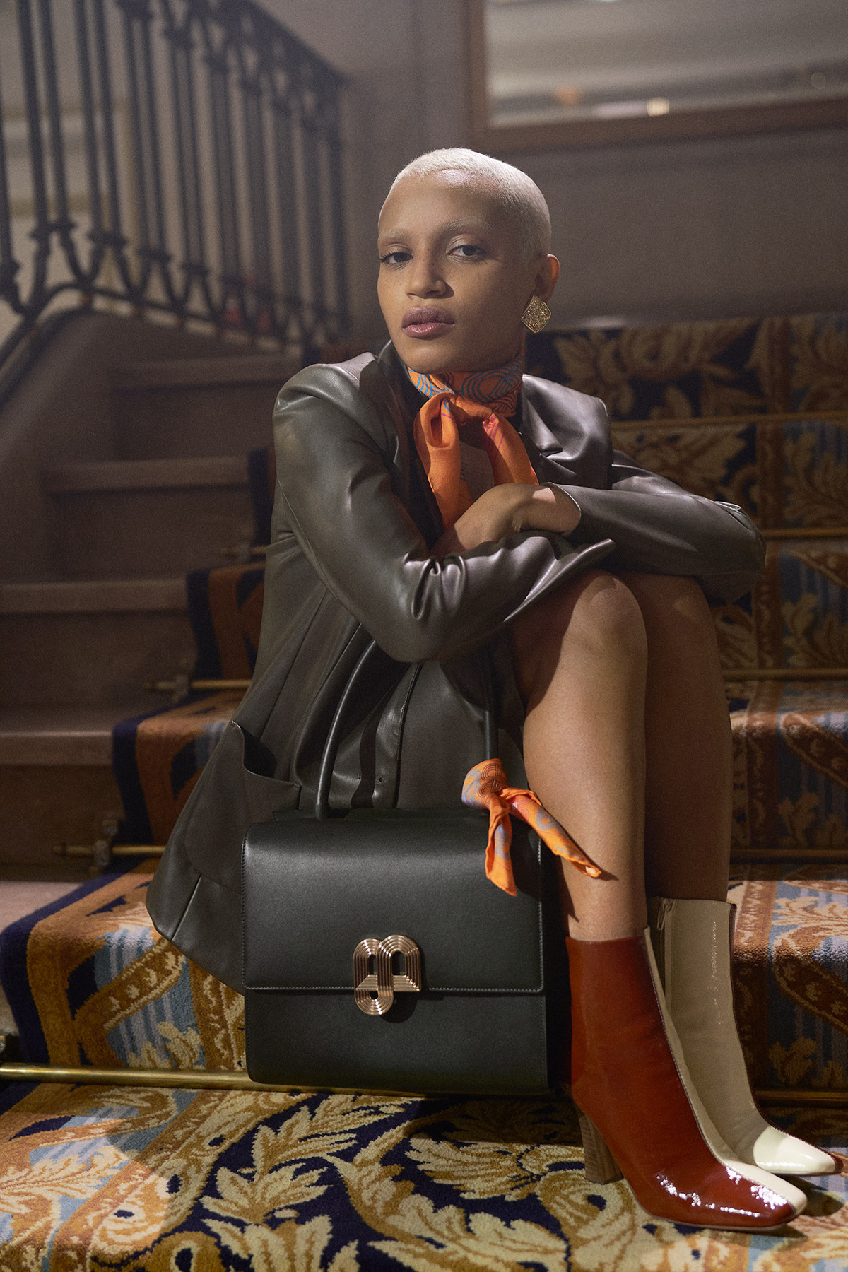 accessories clutch Fashion  handbag hotel Photography  scarf woman women
