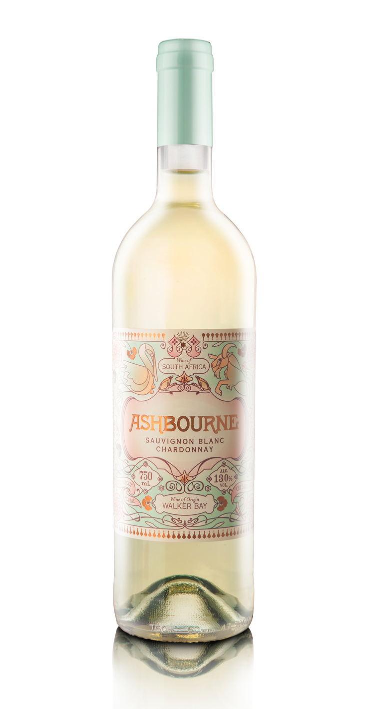 Adobe Portfolio wine label South African wine Sauvignon Blanc Chardonnay wine White Wine hermanus pelican goat belle epoque