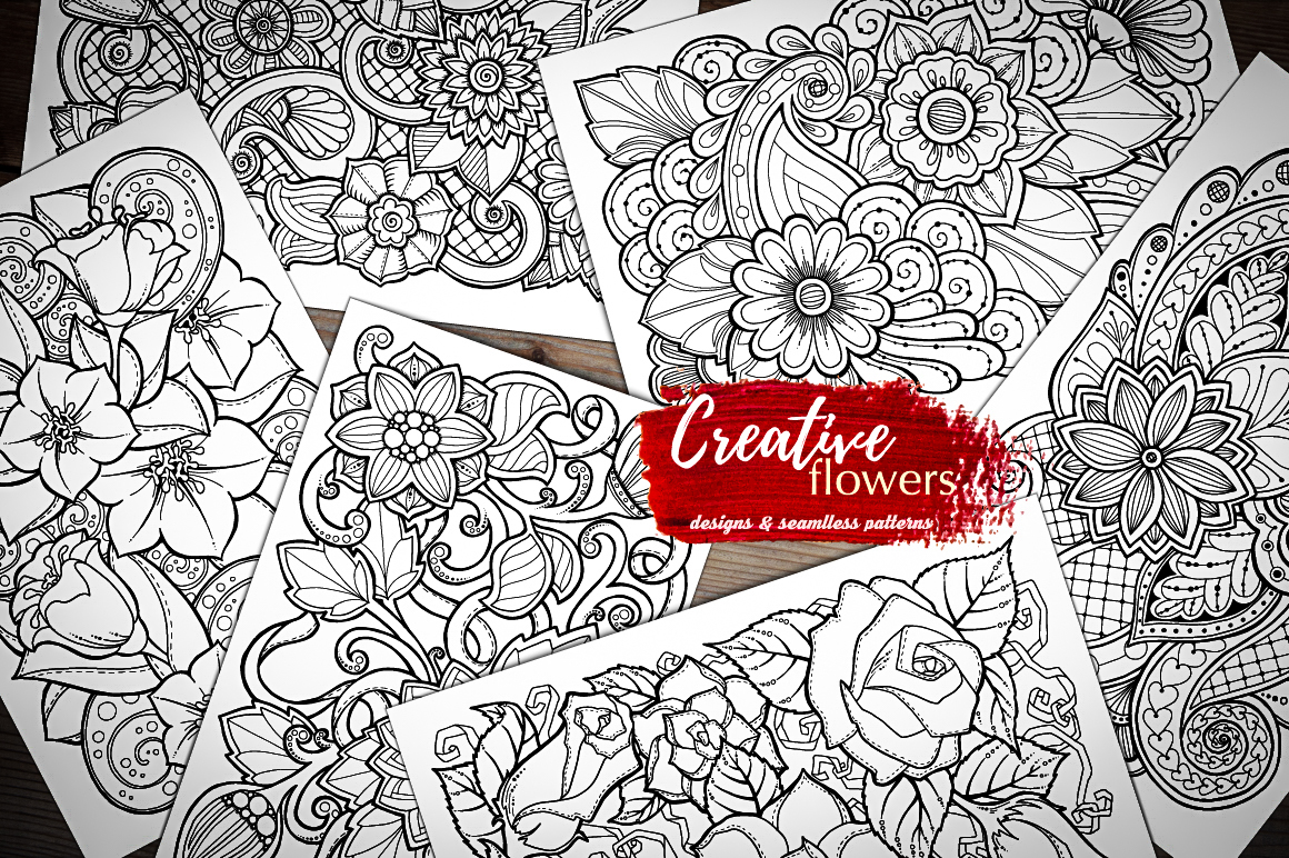 Creative Flowers on Behance
