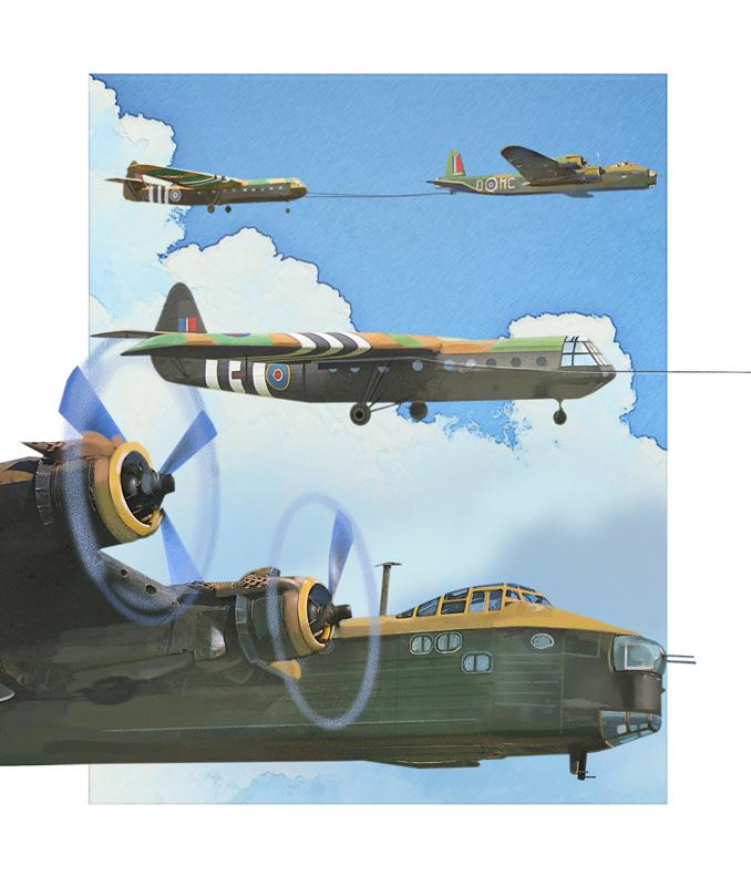airplane aviation battle Digital Art  history ILLUSTRATION  ww2