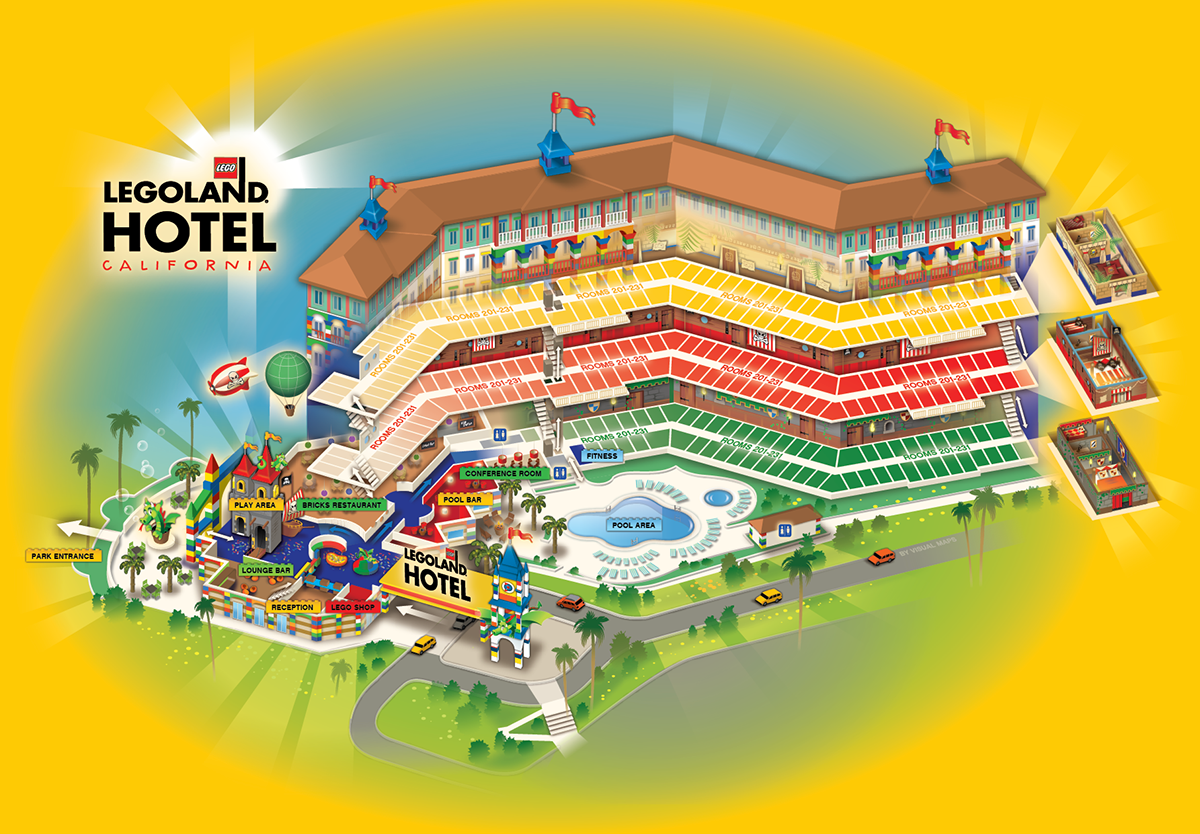 Legoland Hotel California On Behance