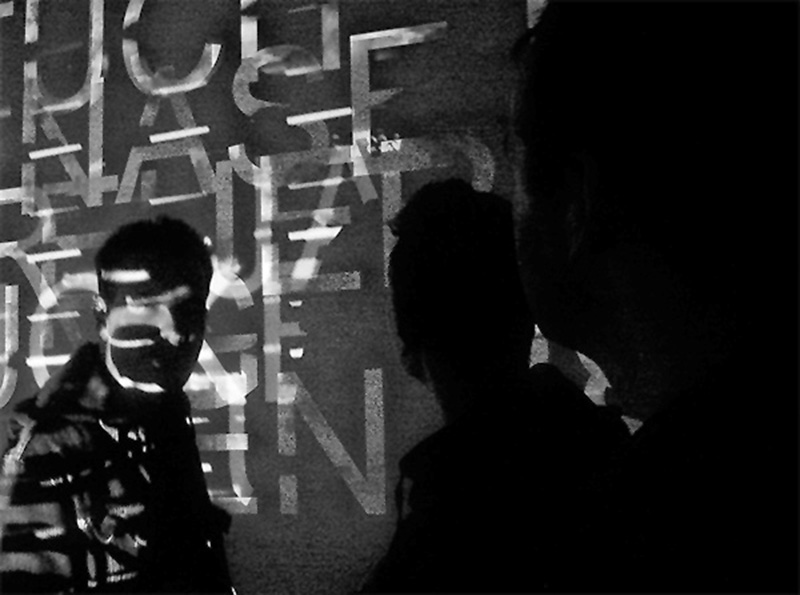 Kinetic Type beats video installation Field Recordings motion typography Type Animation