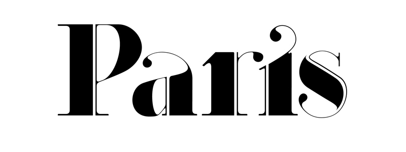 Paris Strip - New Typeface by Moshik Nadav Typography on Behance