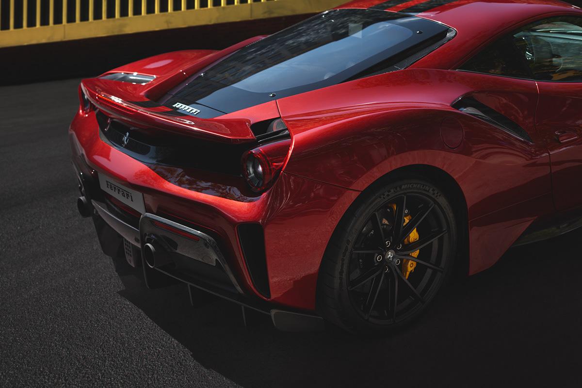 Ferrari 488 Pista on Behance